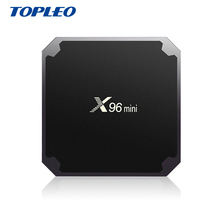X96 MINI S905W 2GB 16GB h.265 4k android smart multimedia player set top tv box with youtube apk