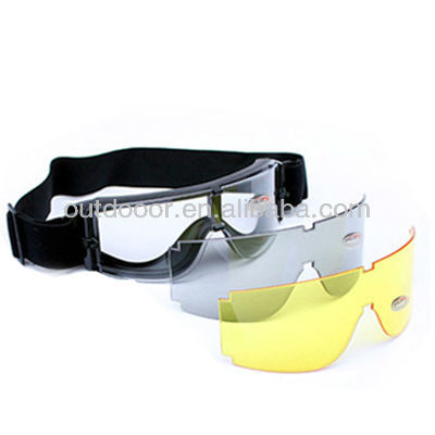UV400 Protection with Colorful Lens for X800 Tactical Goggle