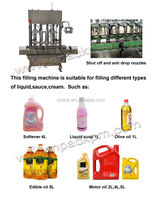 filling machine oil