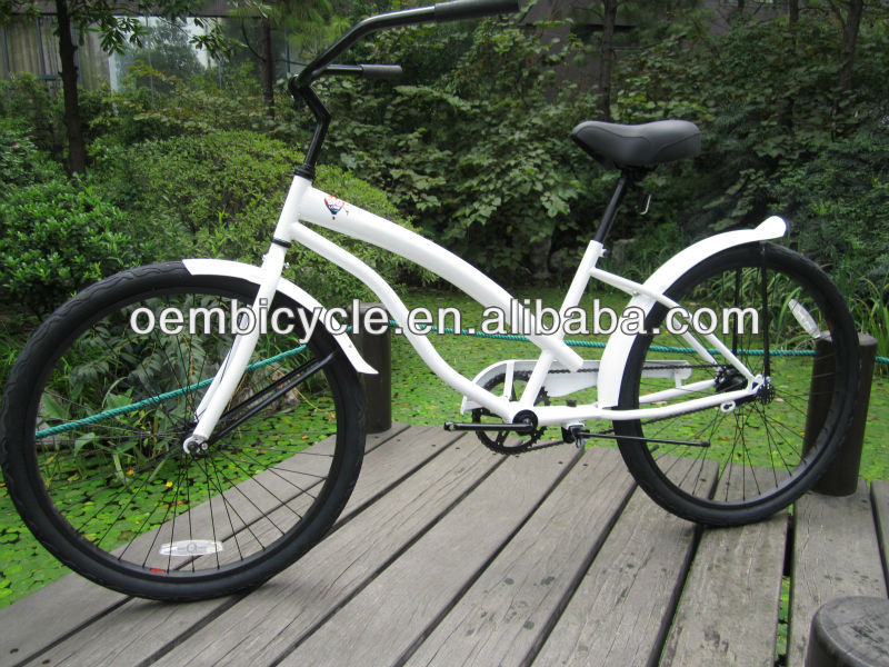 26 inch specialized women with all white frames hot sale beautiful beach cruiser