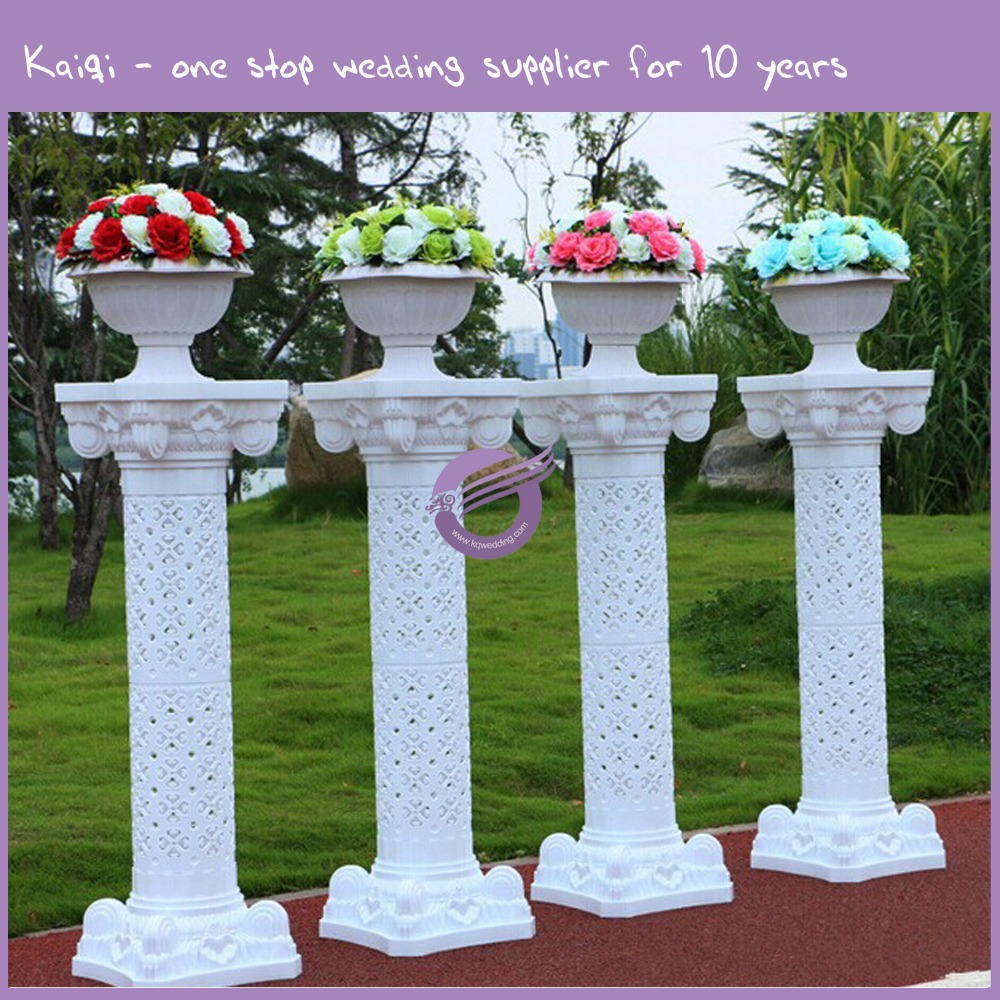 k5878 Wedding decoration column plastic pillars