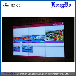 46 inch Ultra Narrow Bezel 5.5mm video wall lcd screen