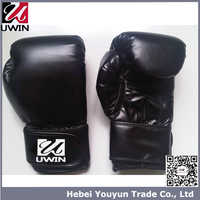 Manufacturer Artificial vintage leather cheap bulk giant colored mma personalized boxing gloves