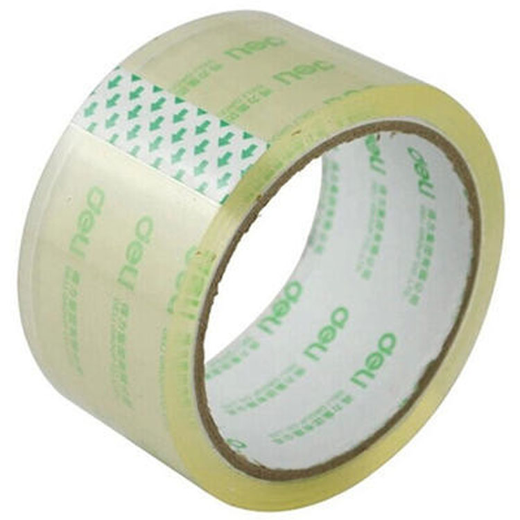 Bopp packing clear adhesive tape roll/Bopp Packing Tape logo printed adhesive tape