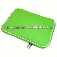 "13.3"" 13 inch Green High Density Memory Foam Laptop notebook computer case/bag/sleeve for macbook"
