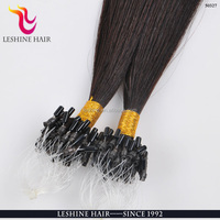 7A Grade Cheap Fashion Keratin Indian Hair Remy Micro Loop Ring Human Hair Extension With 1Gram