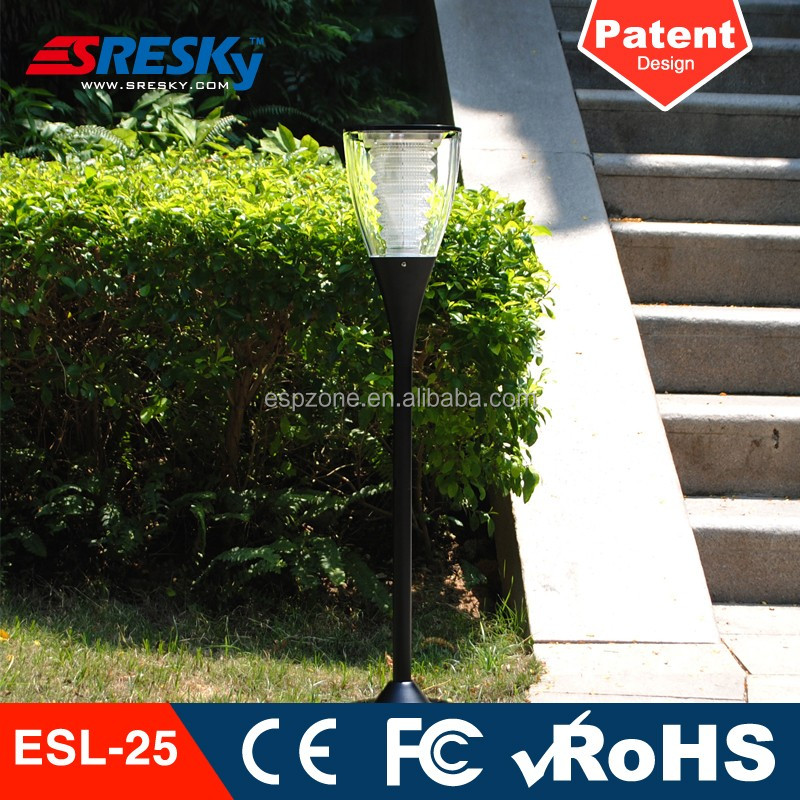 Panel Garden Led Solar Light Cup Stick Home System