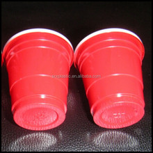 Mini Red solo Cups Plastic 2oz Shot Glasses College Party Disposable wholesale,Plastic SHOT GLASSES 2 oz 60ml Drinks Glass Cups