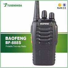 Best selling Baofeng BF-888S 5W best handheld ham radio China 16CH UHF two way radio