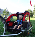 New Folding Baby Product Bike Trailer with EN15918 and ISO9000
