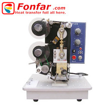 Date Batch Coding Machine with Hot Coding Foil Width 35mm * Length 120m