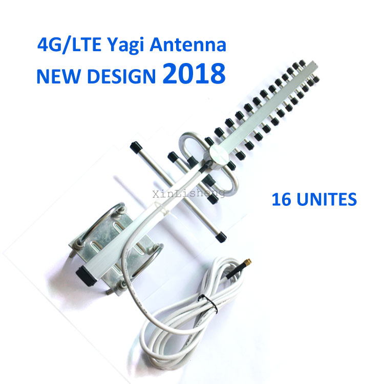 Remote Wireless Outdoor Directional Antenna 28dB LTE 4G Yagi Antenna