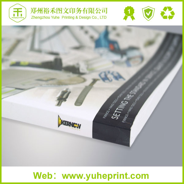 Hot selling professional inexpensive soft cover book CMYK perfect binding leather bound book printing