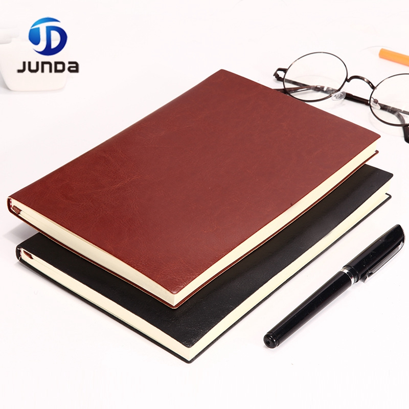 Office Stationery Leather Hardcover Notebook /journal Paper Notebook