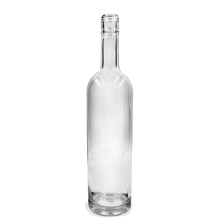 wholesale premium hot crystal cscrew top 750ml clear vodka tequila liquor glass bottle