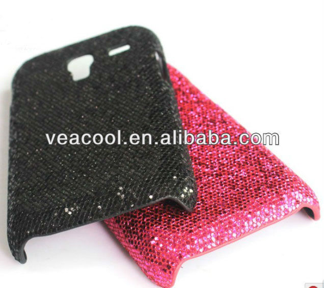 Jewelled Bling Sparkle Glitter Back Phone Case Cover for Samsung Galaxy Ace Plus S7500