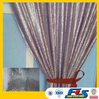 Home Decoration Metallic Cloth,Metallic Fabric,Silver Metallic Material