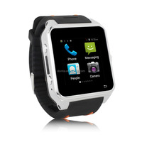 Smart watch smartphone 1.54 Inch IPS Screen MTK6572 Dual Core watch phone android wifi 3g