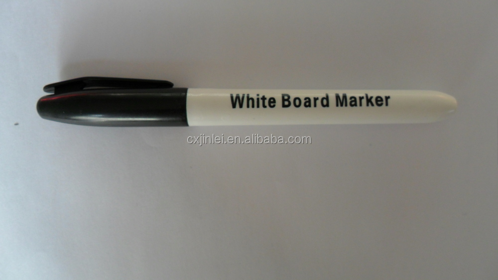 Non-Toxic Dry Erase White Board Marker Pen With Eraser For Home, School Or Office
