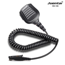 Juentai H64 M4 High Performance Walkie Talkie Speaker Microphone IP66 Waterproof Handheld Transceiver Speaker Mic