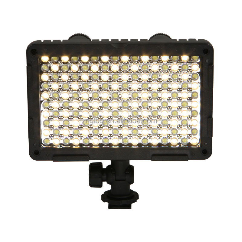 CN-160CA Photographic Light Bi-color LED on camera light video light for camcorder dv camera dslr