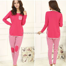 Custom-made high quality one piece pretty summer knitted 100% cotton flannel pajamas suits women sleepwear