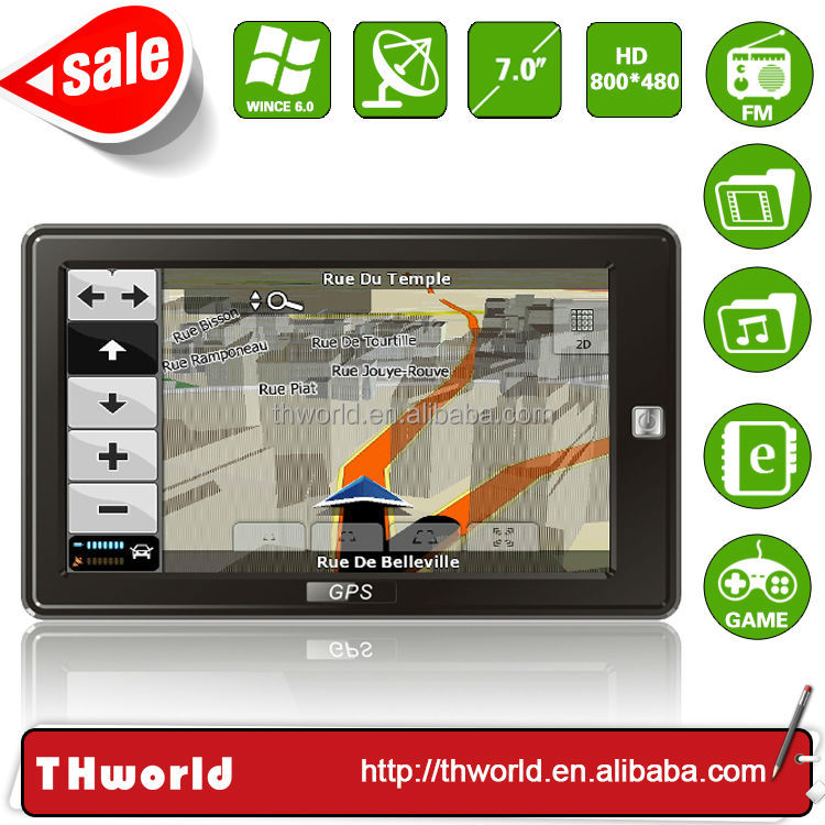 2014 NEW SALE 7 INCH car gps multimedia navigator MODEL NO. 709 WITH 8GB MEMORY ONLY $35.50/PC