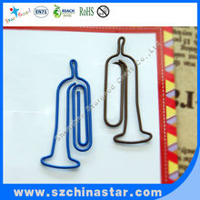 Perfect in workmanship mini trombone paper clip