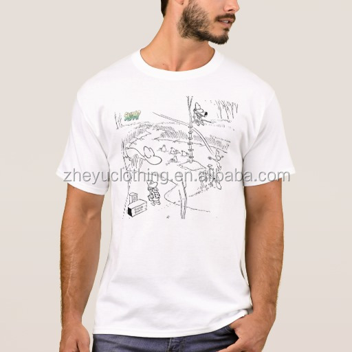 180g 100% Cotton White Tshirt Custom Washed Screen Printing Vintage T Shirts