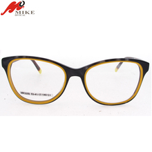 High quality eyeglass frame, acetate optical glasses frame with diamond