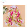 Fashion Women Pastoral Style Flower Floral Large Long Stole Scarf Shawl Wrap