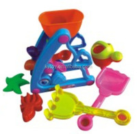 Funny beach sand play box,sand play tools for kids