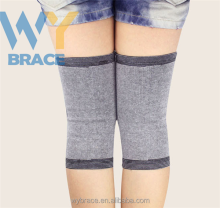 Custom Logo High Elastic Bamboo Fiber Knee Sleeve For Yoga