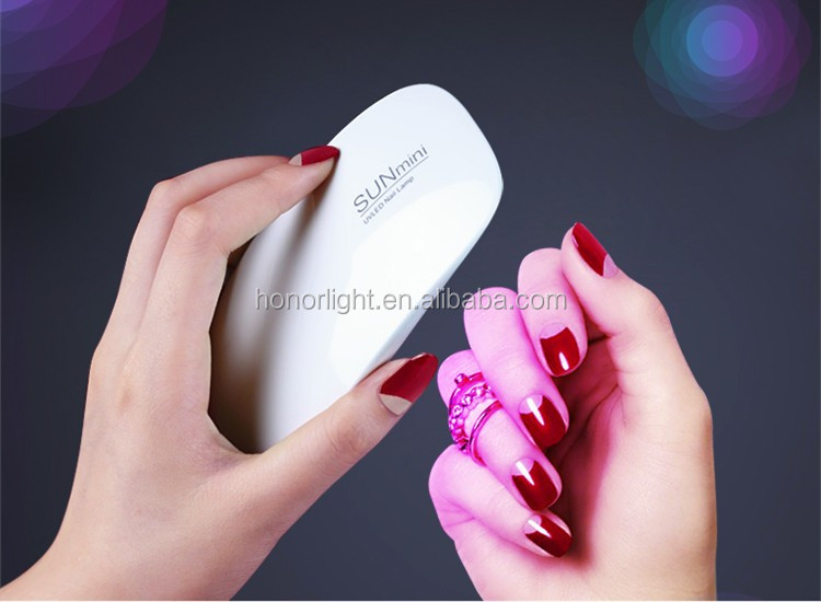 Suit for all uv nail gel gel polish 6w small nail dryer mini uv led curing machine