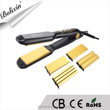 popular removable plate multi-function hair straightener