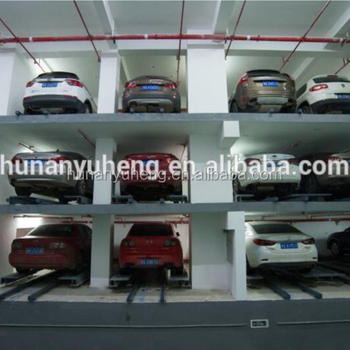 Hot selling automated smart PPY plane moving car parking lift system