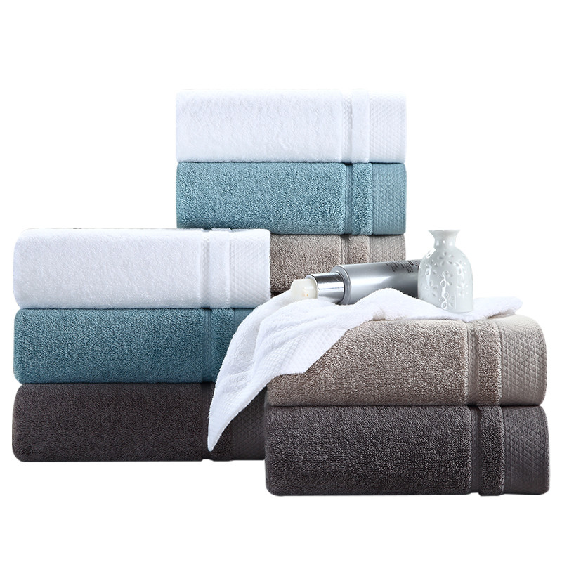 Organic cotton white terry hotel High Quality Face Towel