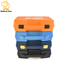 Ningbo Factory PP material heavy duty plastic tool case with foam insert and handle for precise instrument