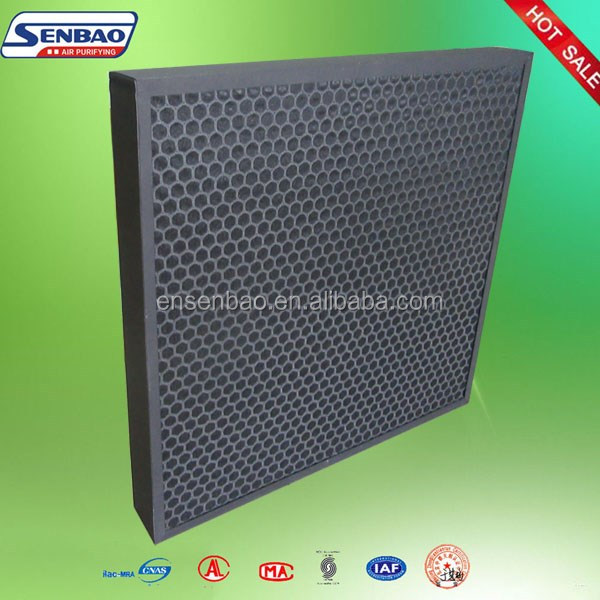 Factory direct selling paper frame activated carbon air filter