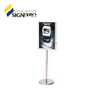 Top Quality New Design Poster Board Stands Display Stand