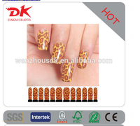 2015 Popular Style 3D Nail Art Stickers Nail Polish Sticker Nail Stickers