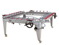 Chain Wheel Screen Stretching Machine and Low Price Professional Manufacturer