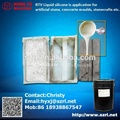 RTV molding silicone rubber for stamped concrete molds, baluster molds