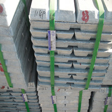 zinc ingot and zinc alloy zinc ingot 99.999% with fatory price