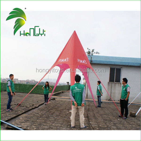 5mx4m star tent for advertising promotion