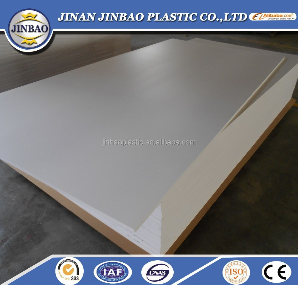 high impact white PVC foam board for outdoor billboard