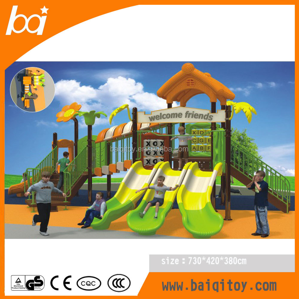 Newest kids outdoor playground equipment