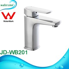 Single lever Square basin mixer Watermark brass tapware
