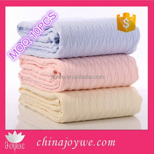 Hot sale Online 100% Cotton Crochet Baby Blanket Pima Cotton Knitted