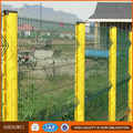 PVC Coated 3D Wire Mesh Fence/Beautiful Garden Border Construction Safety fencing
